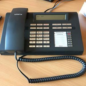 Telefon mit Umleitung